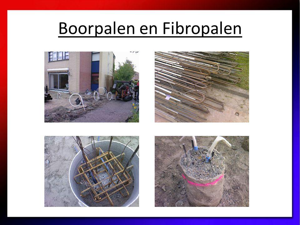 Boorpalen en Fibropalen