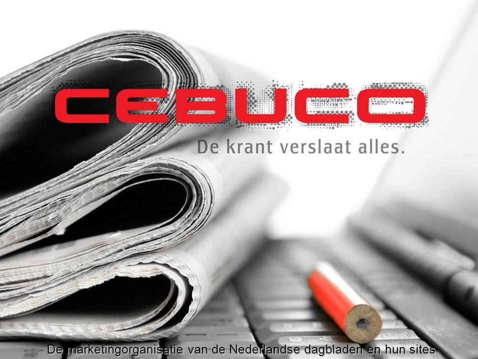 De resultaten naar opleiding (maandbereik) Vooral hoogopgeleide personen bezoeken een krantenwebsite.