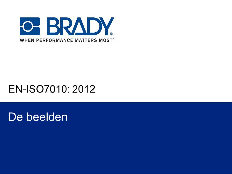 EN-ISO7010: 2012 De beelden