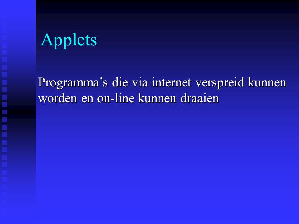 de WisWeb-site n WisWeb is bereikbaar via: www.wisweb.nl n Op de wiswebsite ook bruikbare applets van WINST (vmbo) en RekenWeb (bao) n Niet alleen applets maar ook lesmateriaal (werkbladen, handleidingen, lesverslagen)