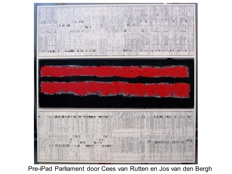 Pre-iPad Parliament door Cees van Rutten en Jos van den Bergh