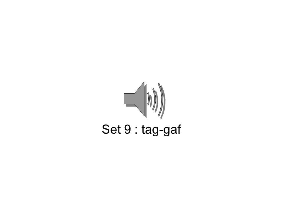 Set 8 : laak-kraal