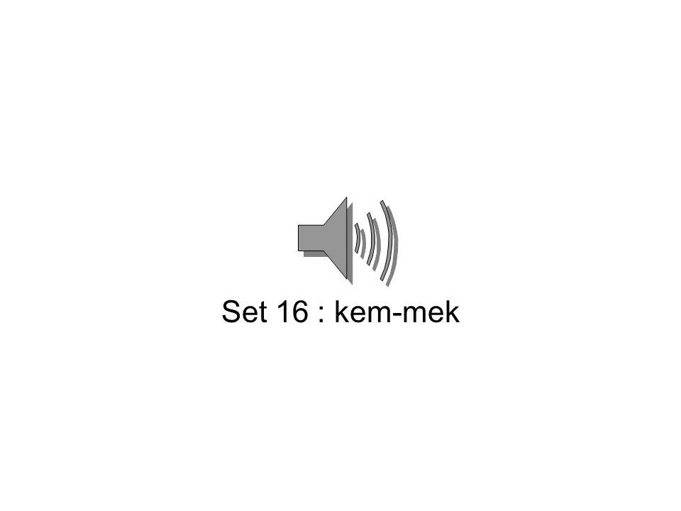 Set 15 : lest-tsel
