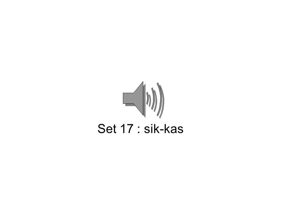 Set 16 : kem-mek