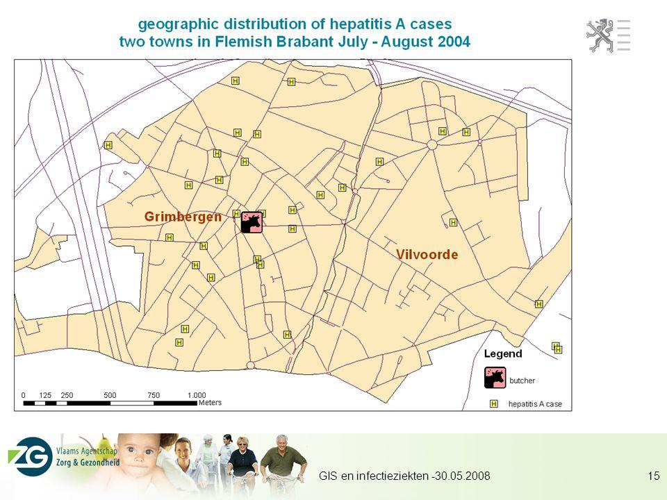 GIS en infectieziekten -30.05.200815
