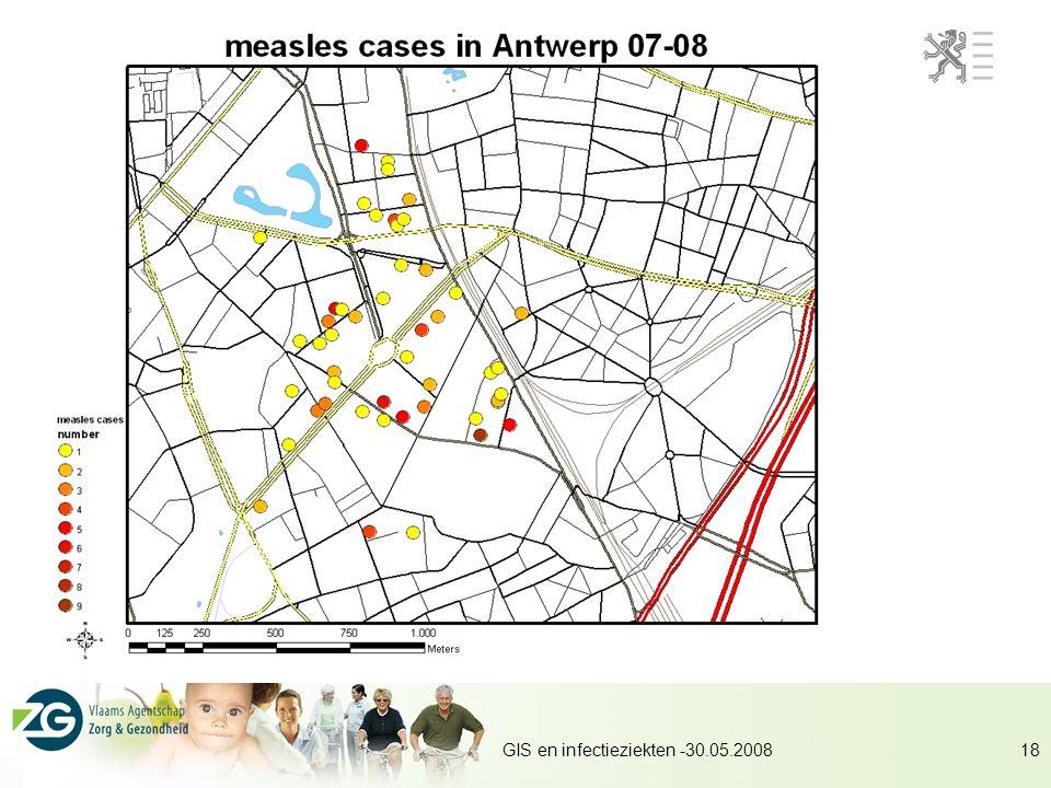 GIS en infectieziekten -30.05.200818