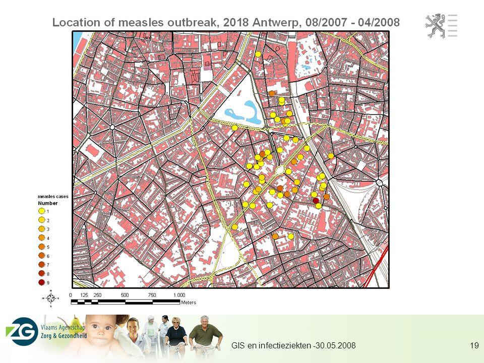 GIS en infectieziekten -30.05.200819