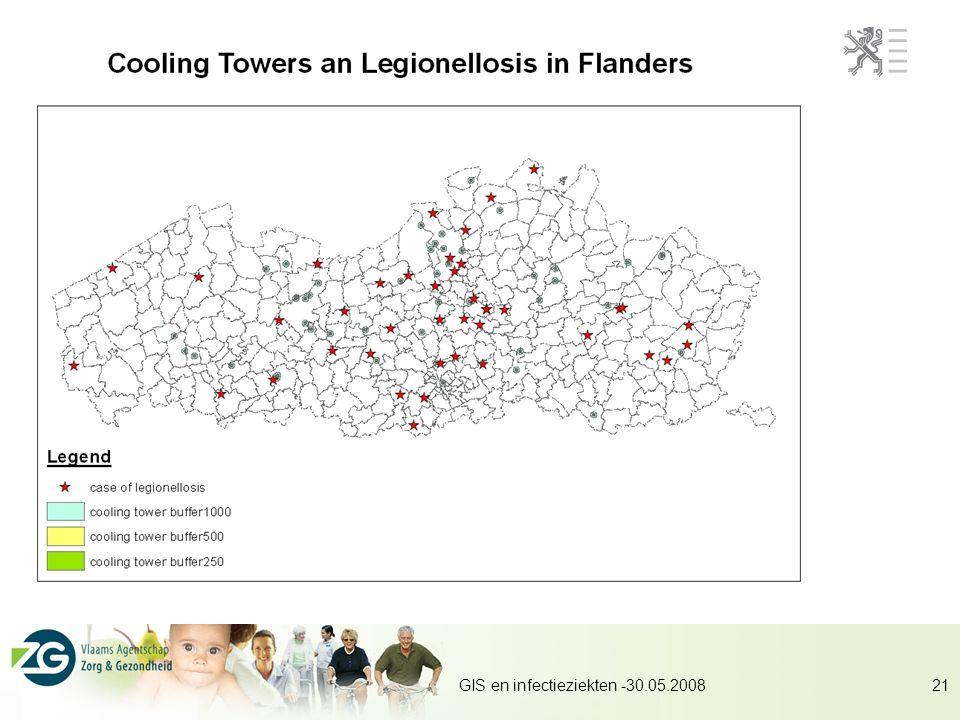 GIS en infectieziekten -30.05.200821