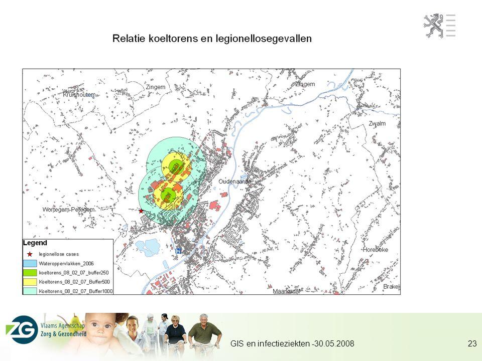GIS en infectieziekten -30.05.200823