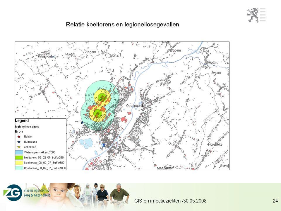 GIS en infectieziekten -30.05.200824