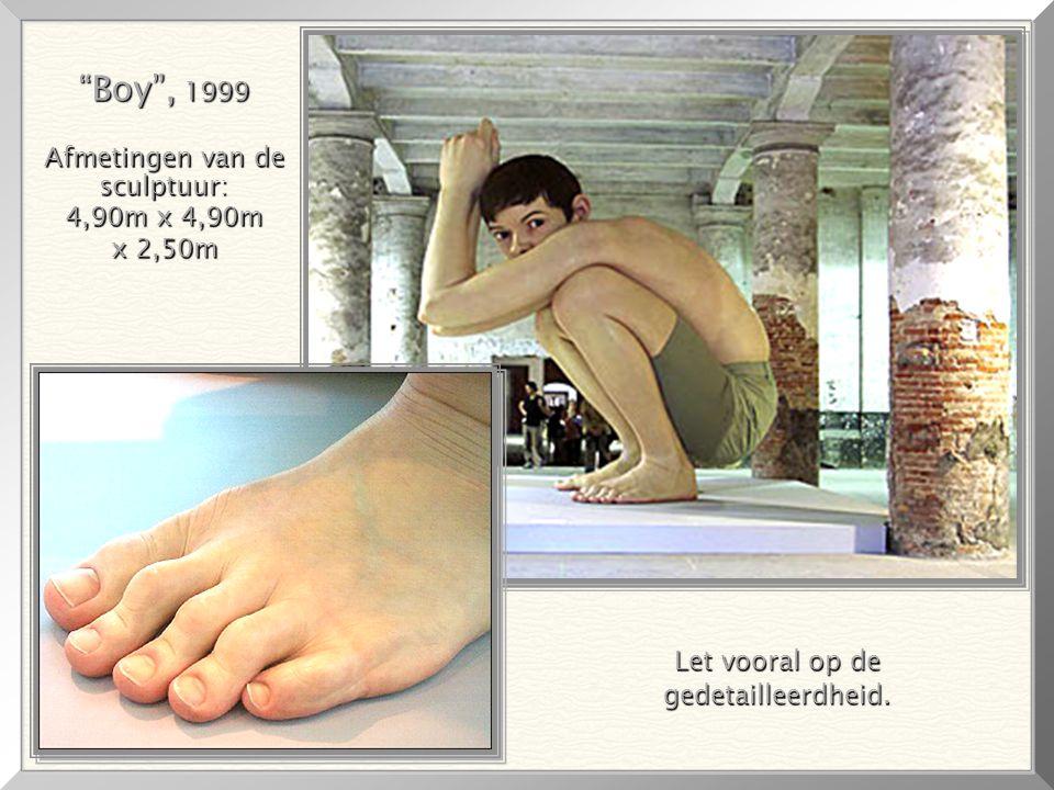 """GHOST"""", 1998 """"GHOST"""", 1998 """"GHOST"""" is2,19m hoog! """"Wilde Man"""", 3,80m hoog, voor Venetie"""