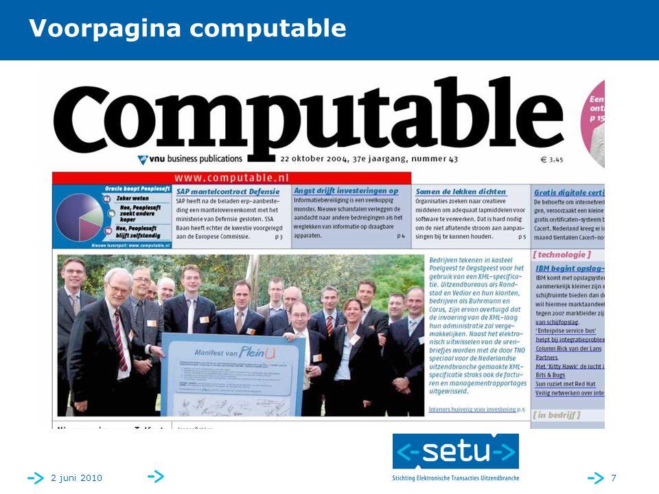 2 juni 20107 Voorpagina computable