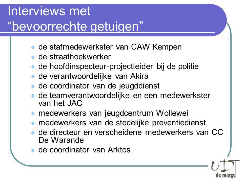 Omgevingsanalyse Wie is bij de problematiek het nauwste betrokken.