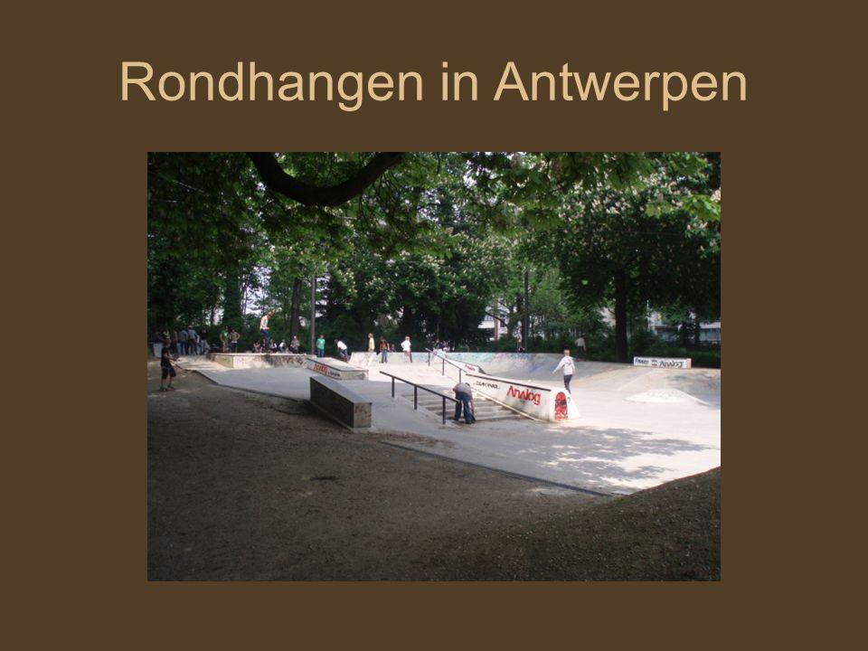 Rondhangen in Antwerpen
