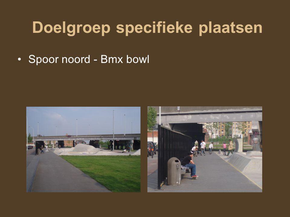 Doelgroep specifieke plaatsen Spoor noord - Bmx bowl