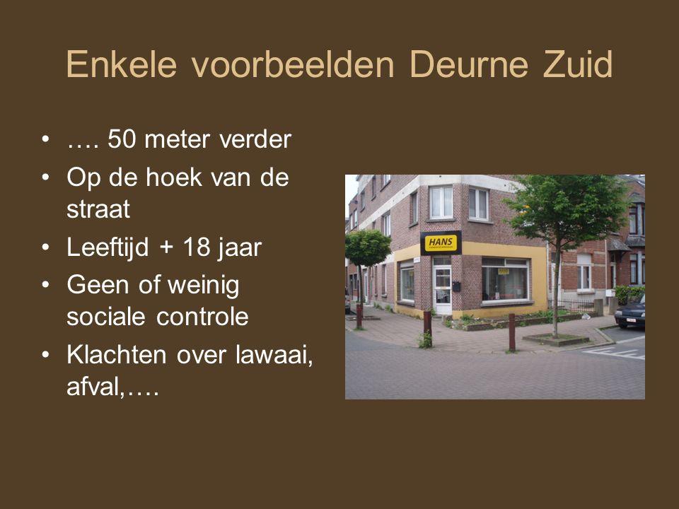 Enkele voorbeelden Deurne Zuid ….