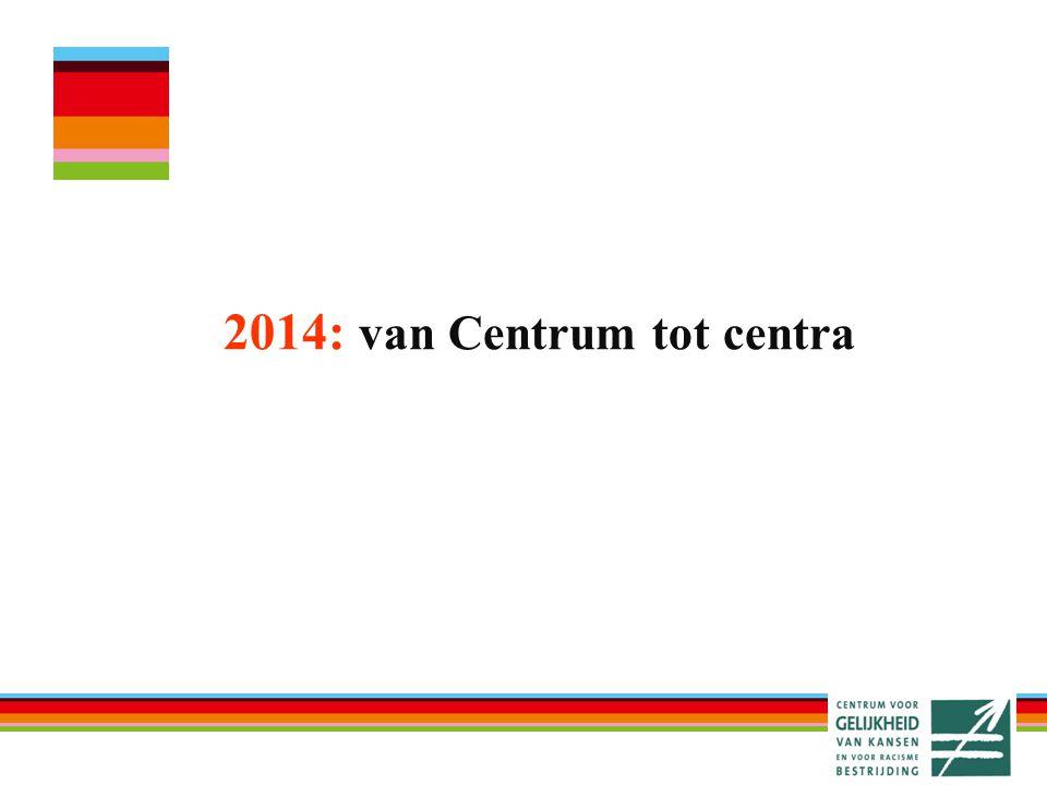 2014: van Centrum tot centra