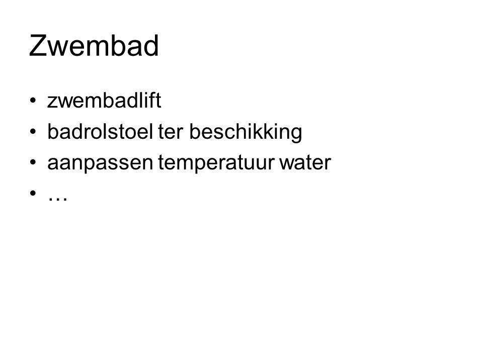 Zwembad zwembadlift badrolstoel ter beschikking aanpassen temperatuur water …