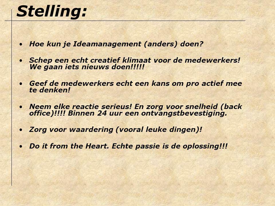 Ideamanagement is life The rest just details www.ideamanagement.nl