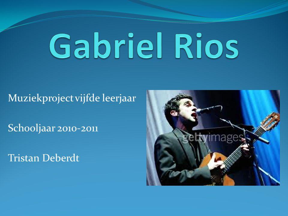 Volledige naam: Gabriel Rios Geboren: Puerto Rico, 1978 Na enkele jaren wilde hij graag een song opnemen.
