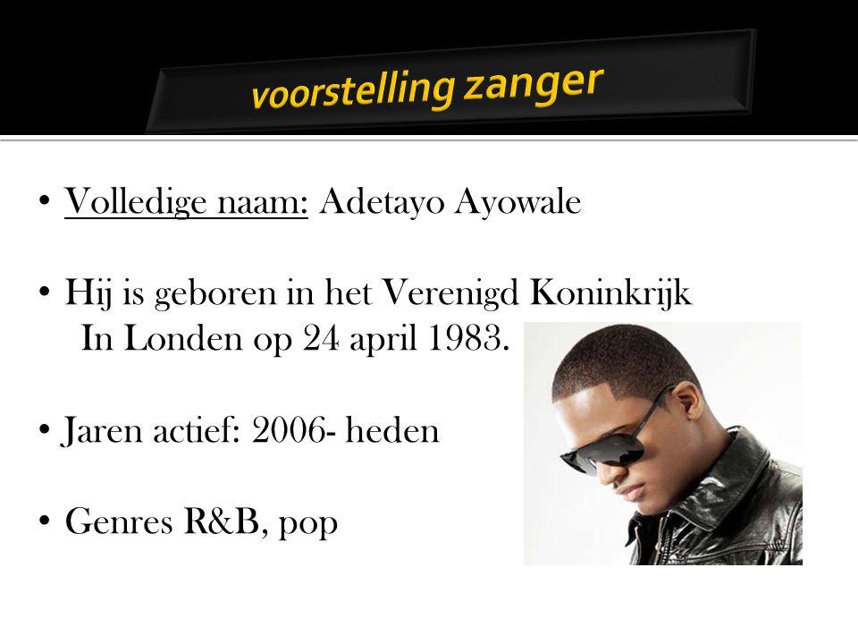 Volledige naam: Adetayo Ayowale Hij is geboren in het Verenigd Koninkrijk In Londen op 24 april 1983.