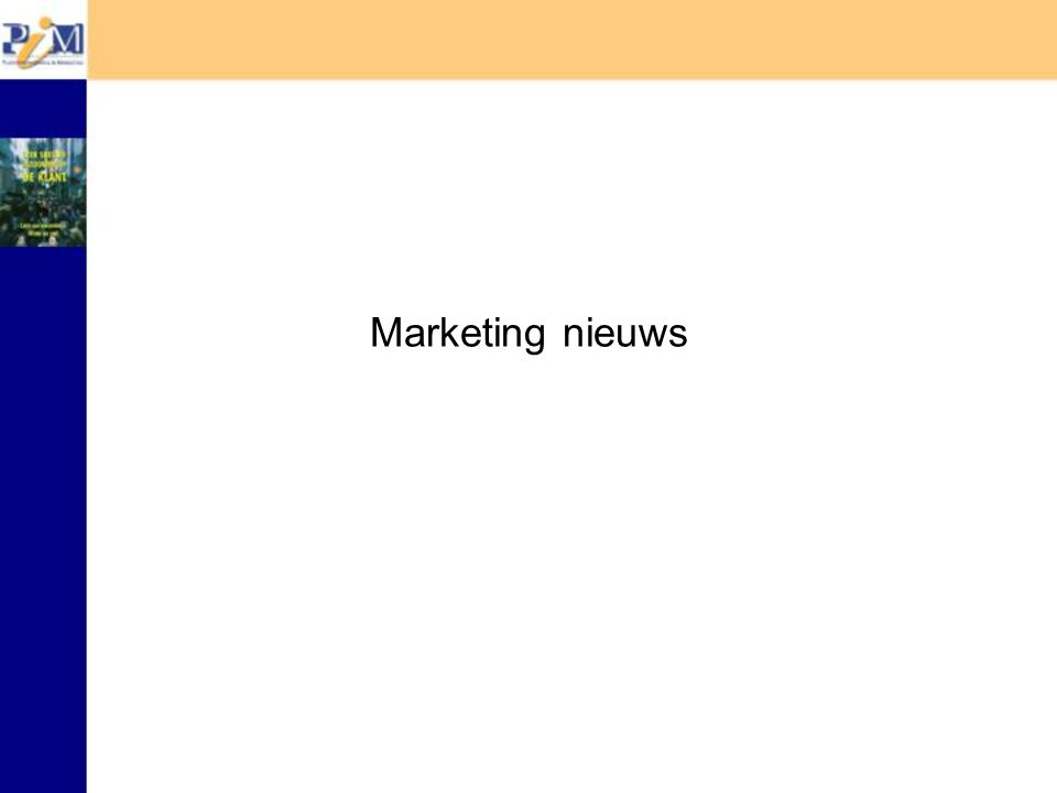 PIM start Marketing Strategy Network (MSN) Maximaal 100 leden !