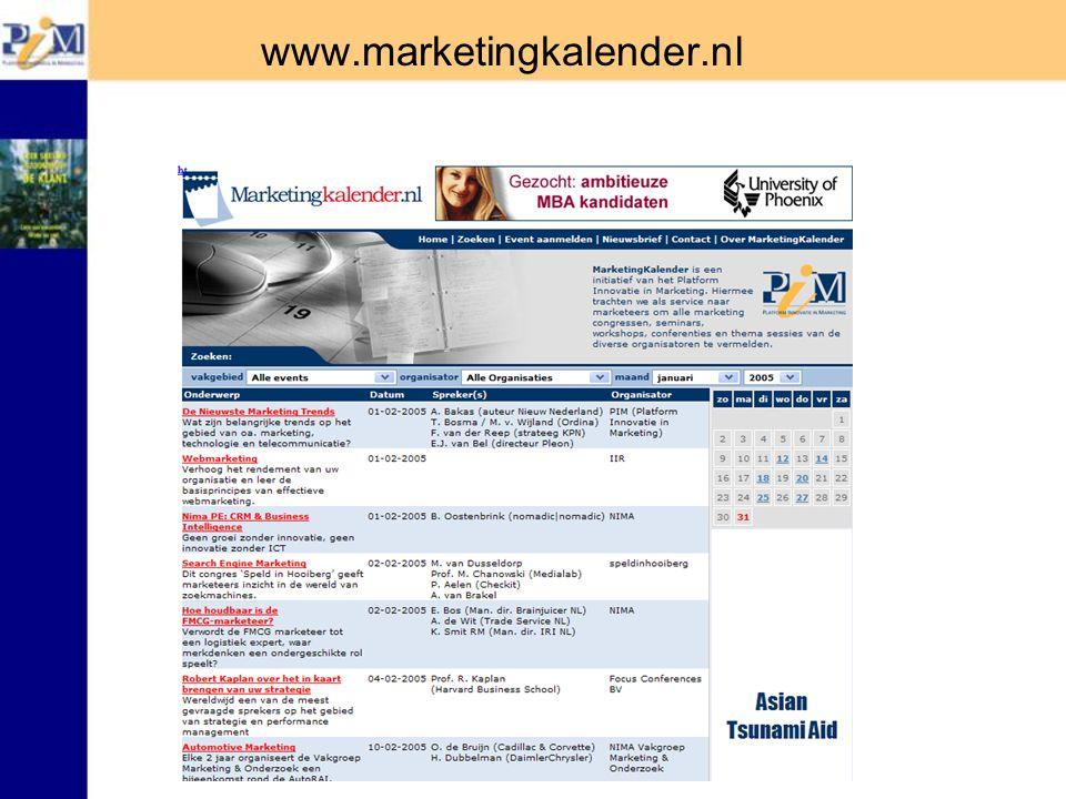 www.marketingkalender.nl
