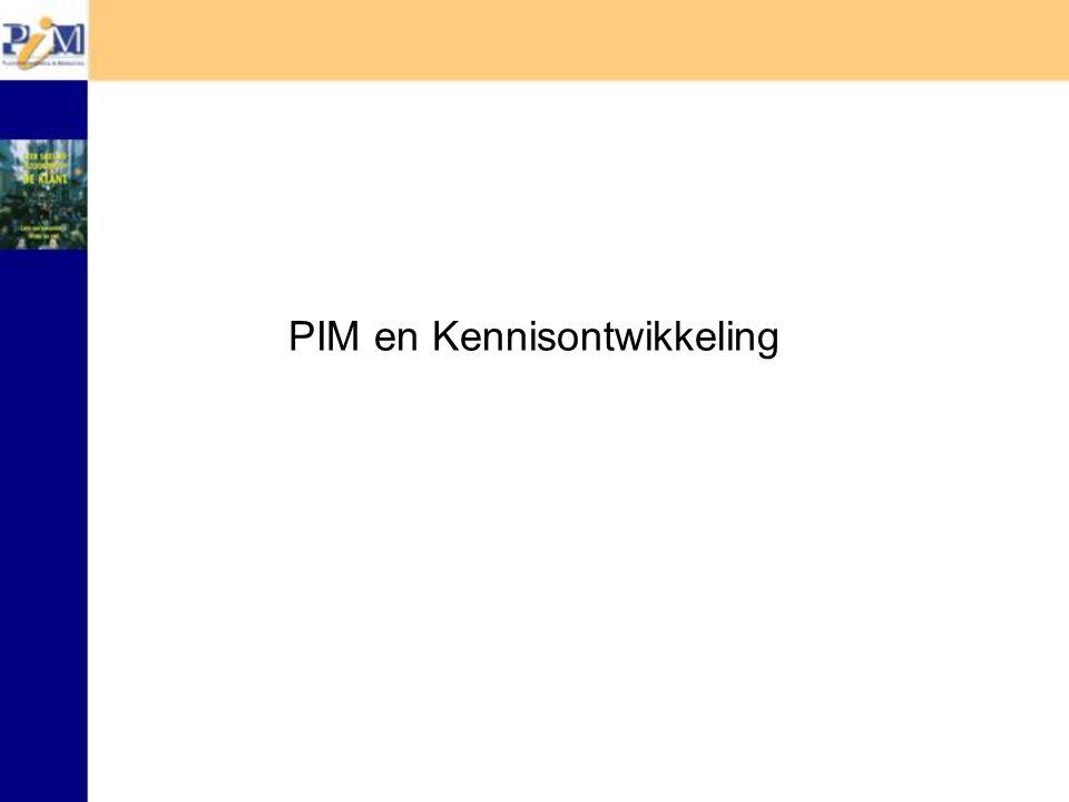 PIM en Kennisontwikkeling