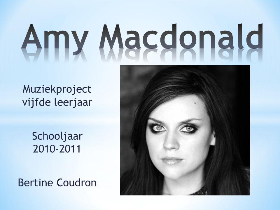 Muziekproject vijfde leerjaar Schooljaar 2010-2011 Bertine Coudron