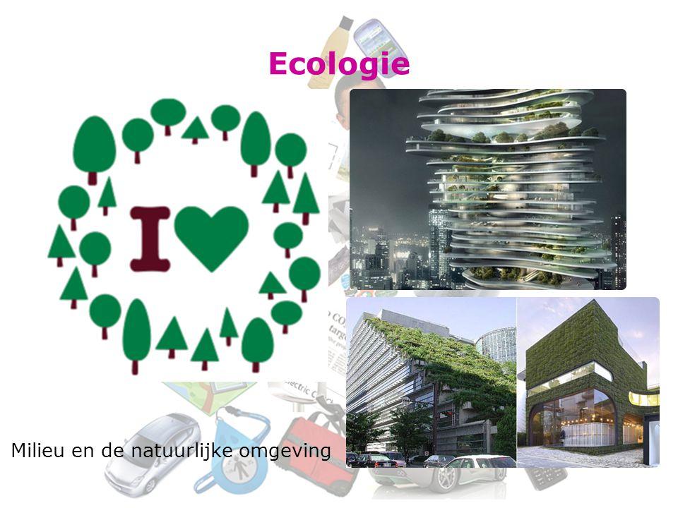 Ecologie Milieu en de natuurlijke omgeving