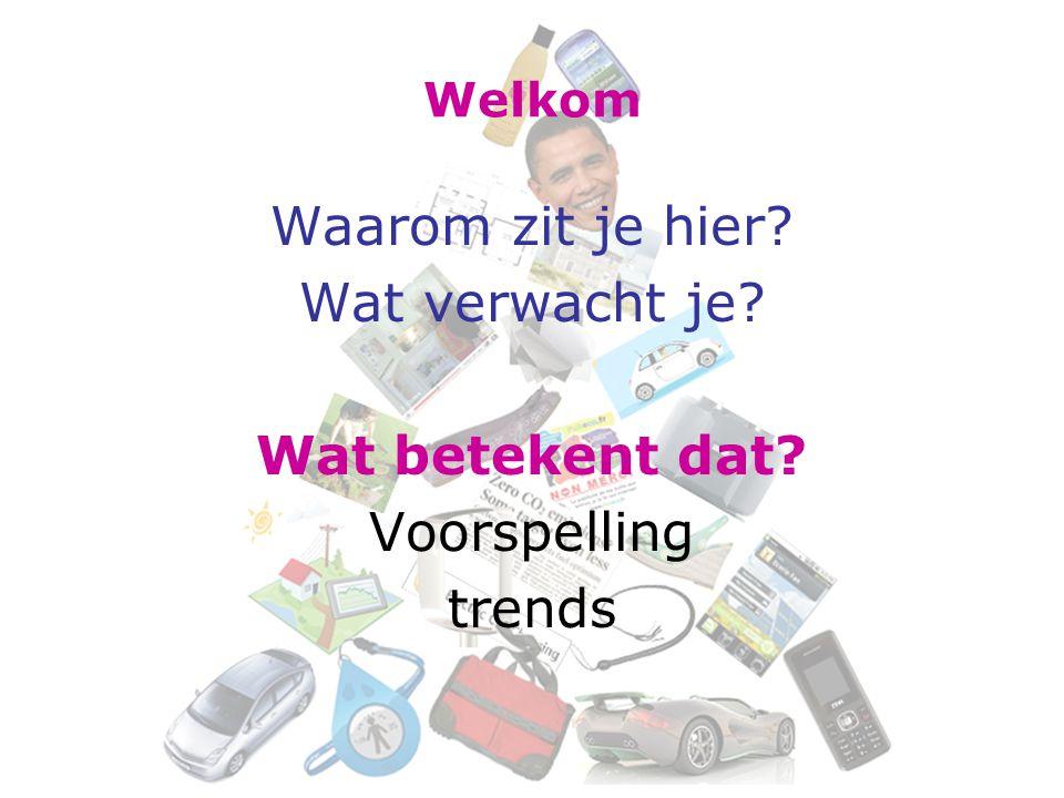 Thuis + volgende week Haal de modulewijzer van de blog Neem literatuur (hoofdstuk 1 uit Van trends naar brands ) door.