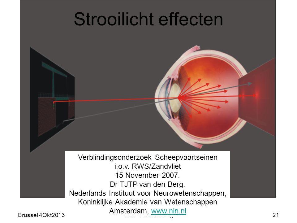 Brussel 4Okt2013TJTP van den Berg21 Verblindingsonderzoek Scheepvaartseinen i.o.v.