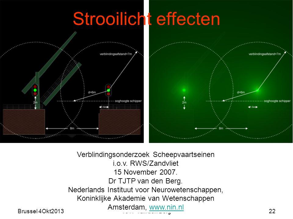 Brussel 4Okt2013TJTP van den Berg22 Verblindingsonderzoek Scheepvaartseinen i.o.v.