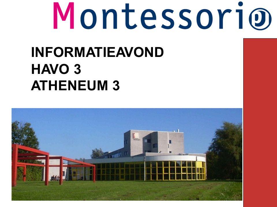 INFORMATIEAVOND HAVO 3 ATHENEUM 3