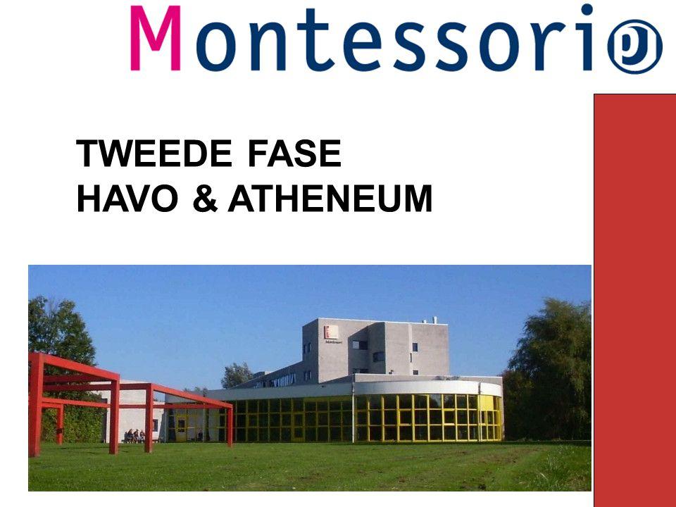 TWEEDE FASE HAVO & ATHENEUM