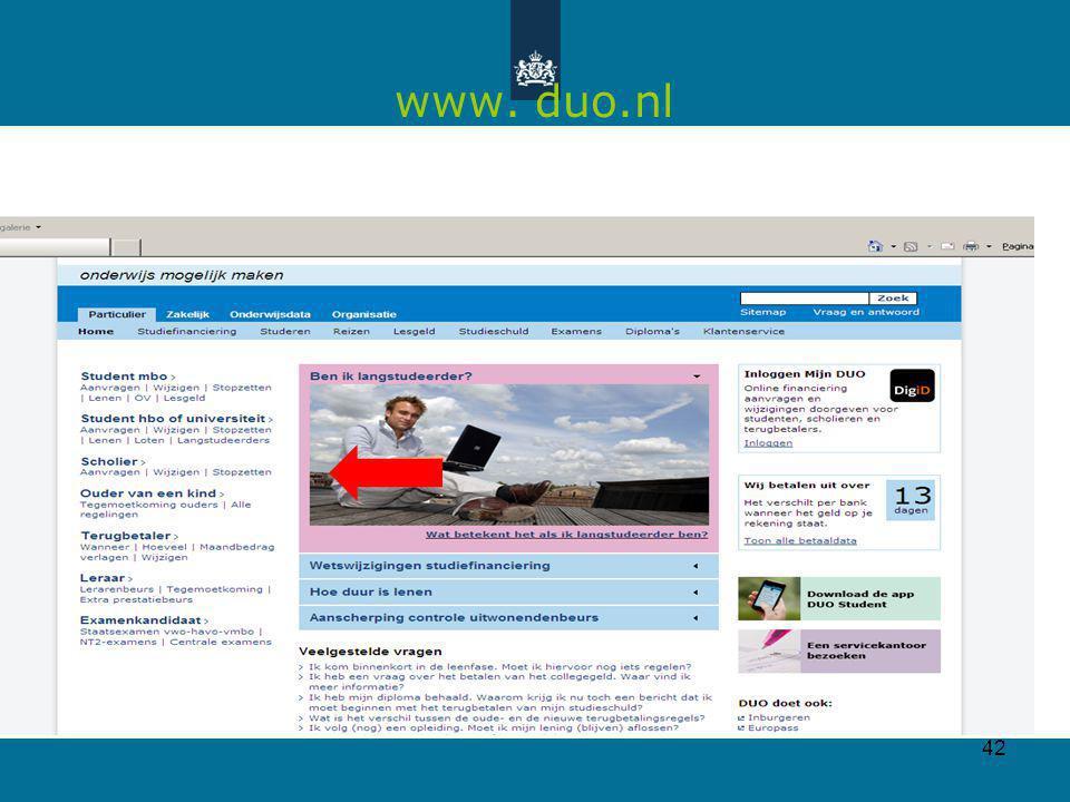42 www. duo.nl