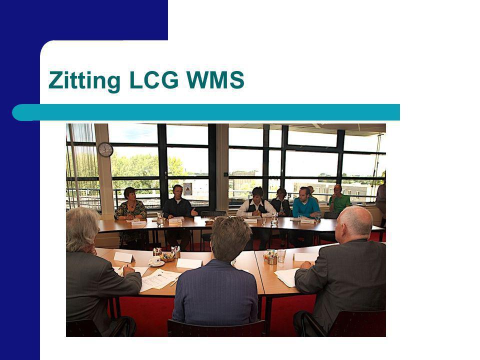 Zitting LCG WMS