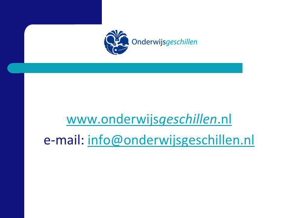 www.onderwijsgeschillen.nl e-mail: info@onderwijsgeschillen.nlinfo@onderwijsgeschillen.nl