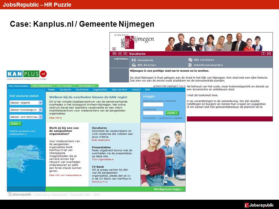 Case: Kanplus.nl / Gemeente Nijmegen