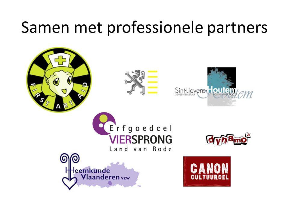 Samen met professionele partners