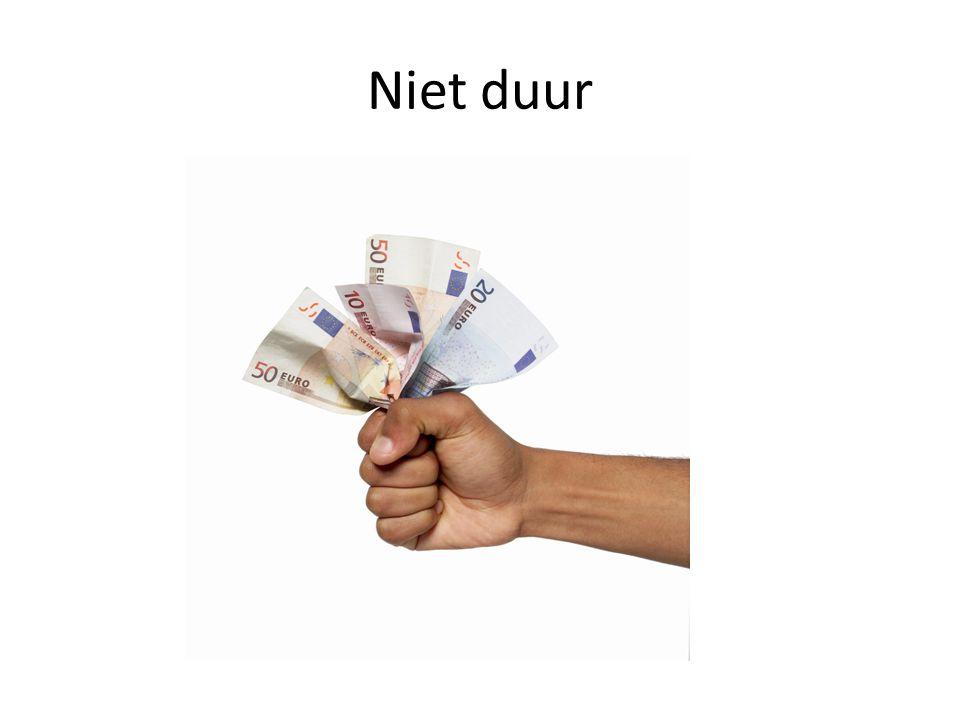Niet duur