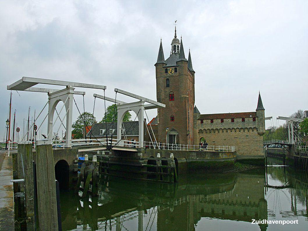 Noordhavenpoort vanuit de stad