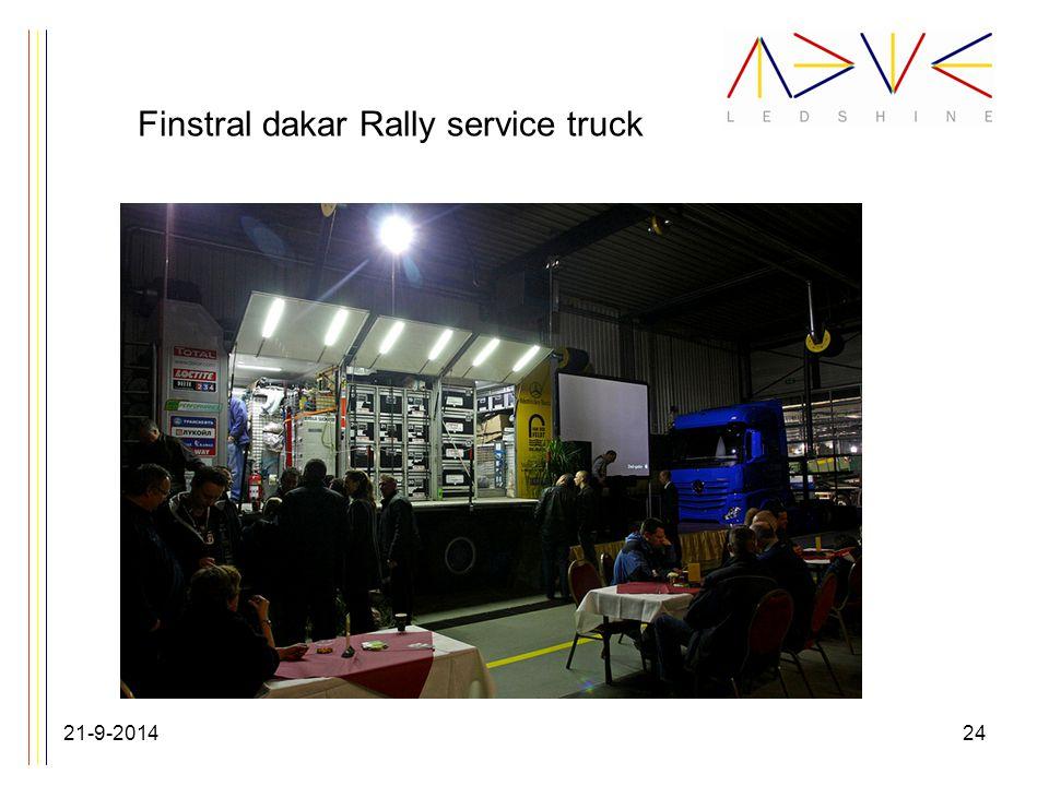 Finstral dakar Rally service truck 21-9-201424