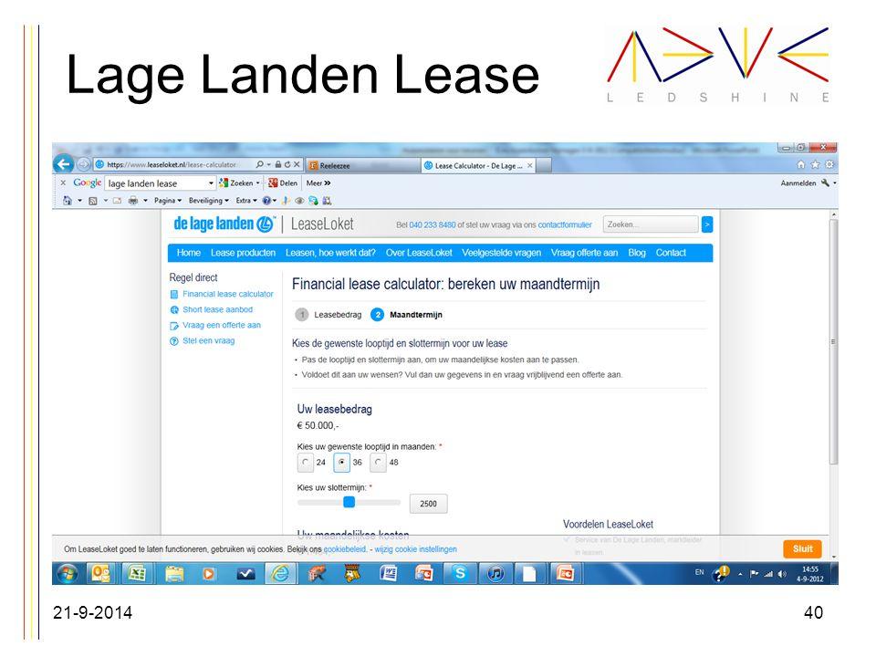Lage Landen Lease 21-9-201440