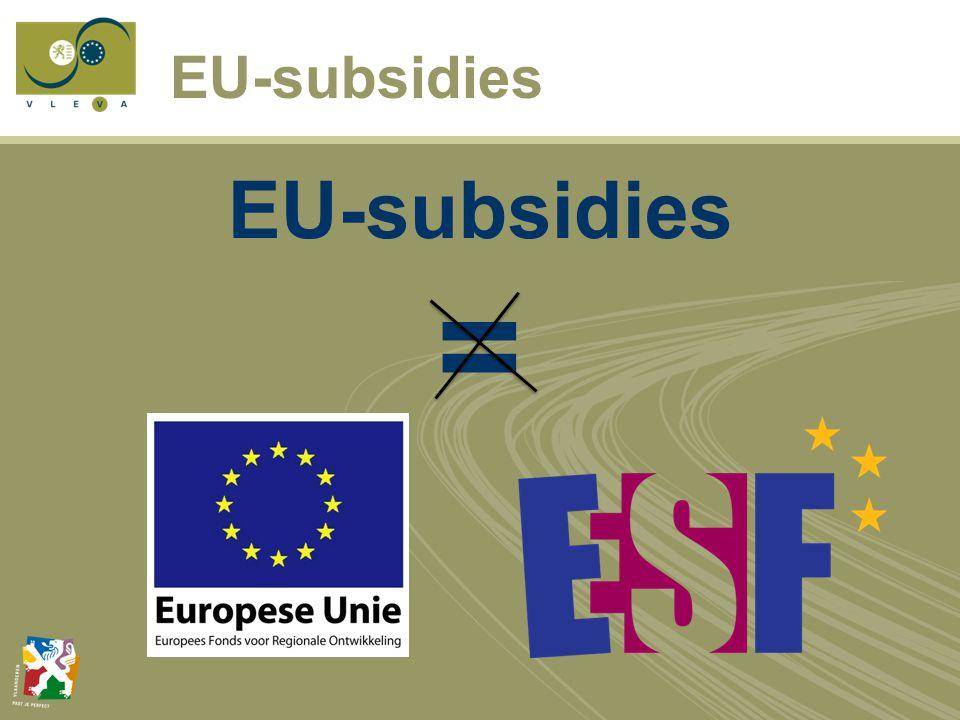 EU-subsidies =
