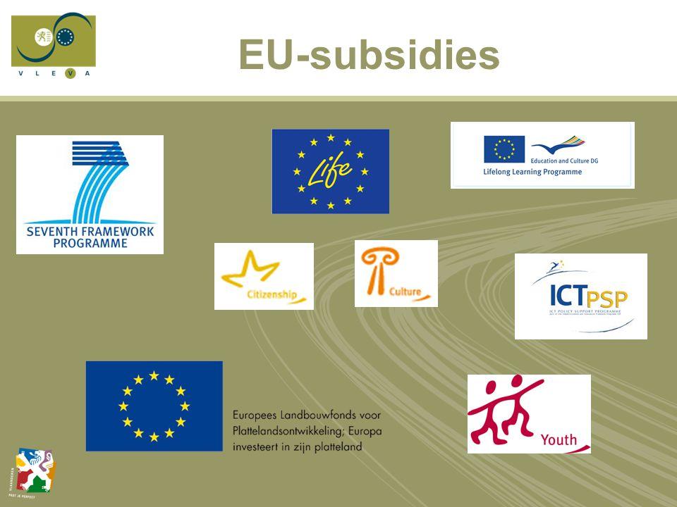 Wat zijn EU-subsidies.