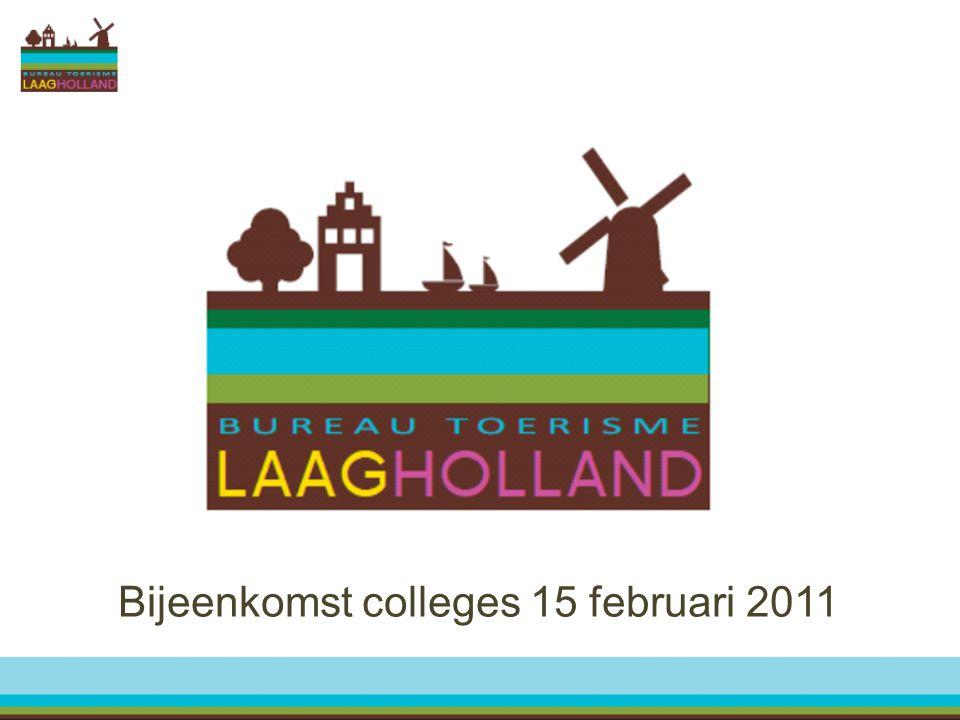 Bijeenkomst colleges 15 februari 2011
