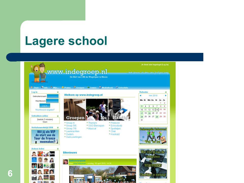 6 Lagere school