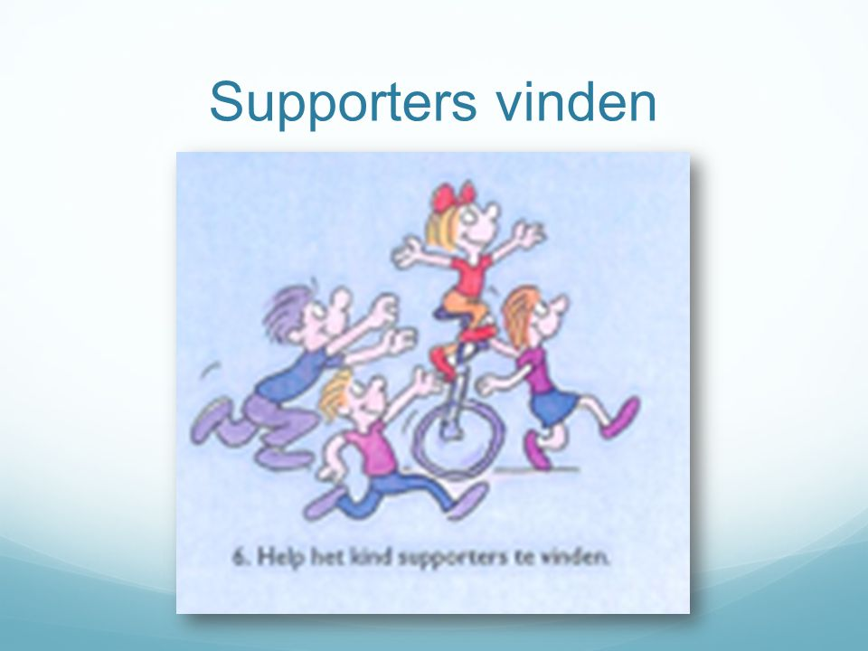 Supporters vinden