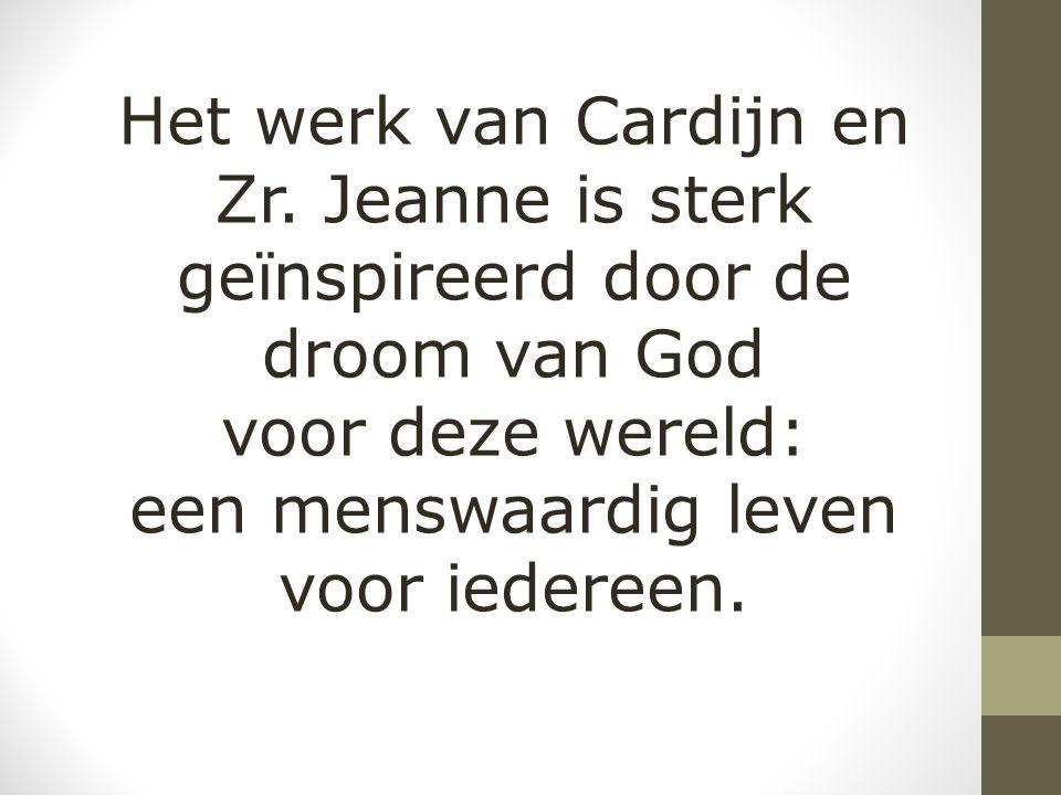 Het werk van Cardijn en Zr.